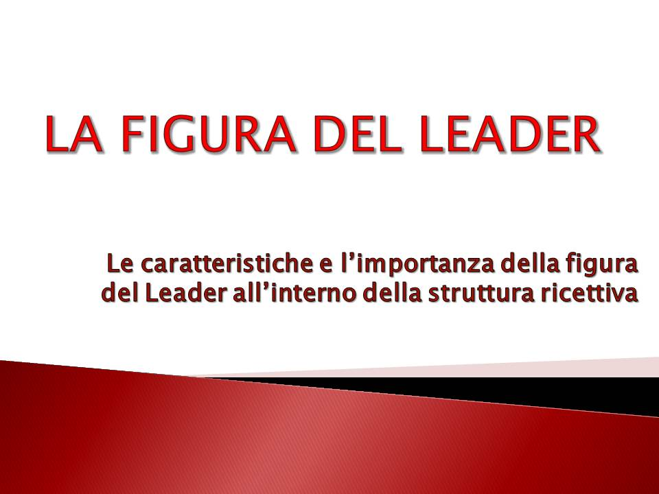 la figura del leader